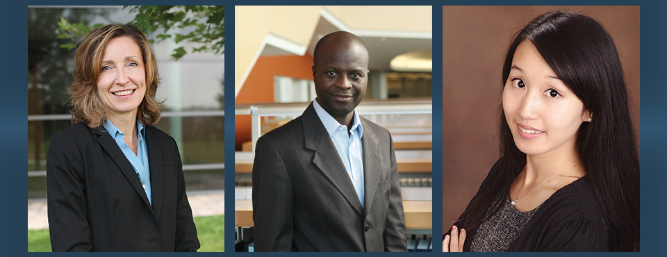 SIA welcomes to the faculty Associate Professors of International Affairs Elizabeth Ransom and Mare Sarr and Assistant Professor of International Affairs and Environmental Engineering Wei Peng.