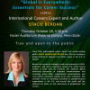 Flyer for Stacie Berdan's career talk