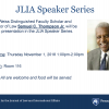JLIA Speaker Series with Professor Thompson