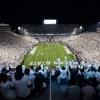 Beaver Stadium whiteout football game