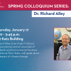 Colloquium Series - Richard Alley