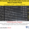 SIA Education Abroad info session