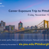 Pittsburgh career trip