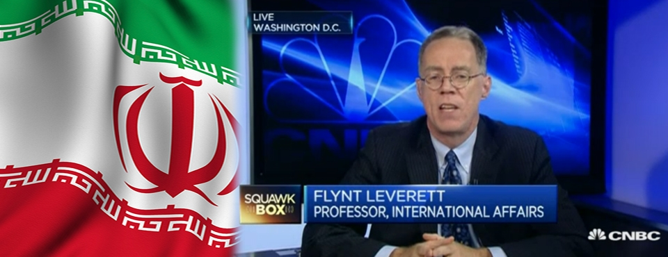 SIA professor Flynt Leverett talks about Iran nuclear agreement