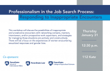 Professionalism in the Job Search Process