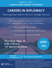Careers in Diplomacy