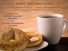 Bagels, Coffee, and Conversation
