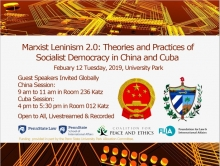 Socialist Democracy conference