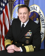 Retired Admiral Michael S. Rogers