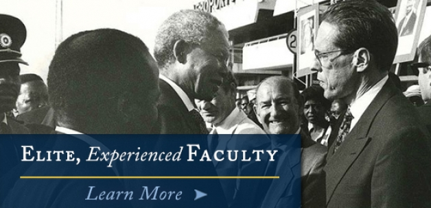 Elite, Experienced Faculty